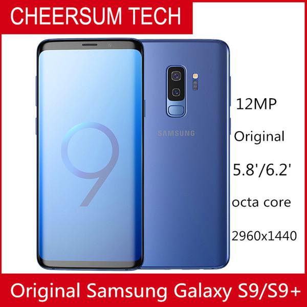 2018 Ursprüngliches Samsung Galaxy S9 s9 + G960 G965F 6,2 '' RAM 64GB ROM Snapdragon 845 Android 8.0 Fingerprint LTE-Mobiltelefon