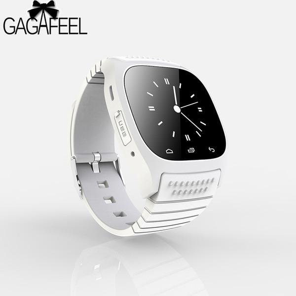 Original Bluetooth Smart Watch for Men Women Barometer Alitmeter Music Pedometer for Android Phone Samsung WristwatchY1883104
