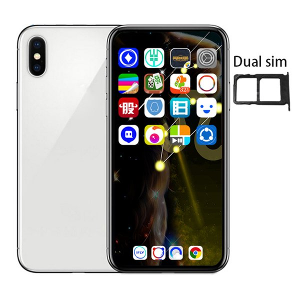 6.5inch Goophone XS MAX Quad Core MTK6580 Face ID Smartphones 1G/4G Show Fake 4G/256G 4G lte Unlocked Phone