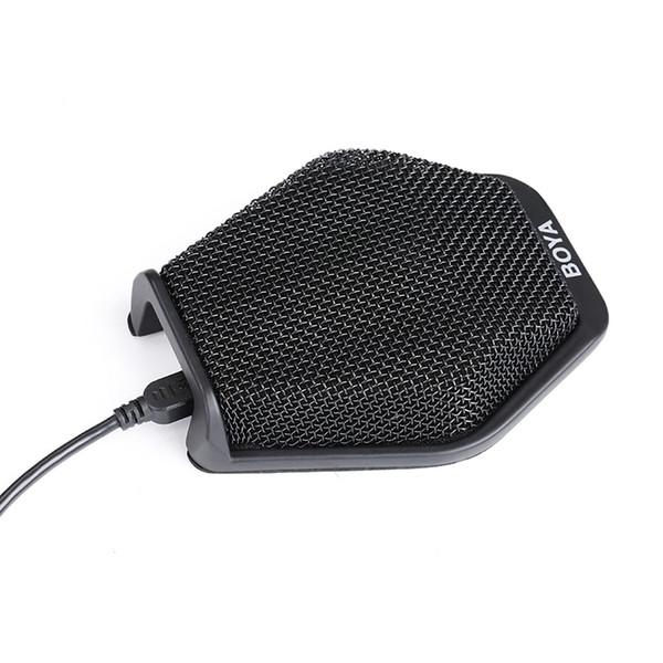 Оригинальный BOYA BY-MC2 конференц-микрофон супер-кардиоидный конденсаторный микрофон подключи и играй всенаправленный Микрофоно