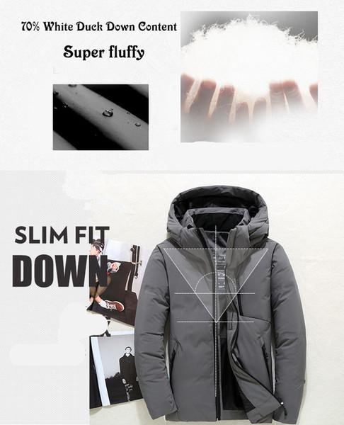 201 Winter Down Jacket Men Hooded Slim Korean Parka Hombre long Jacket coat cashmere mens windbreaker Parkas cotton Oversized 4XL