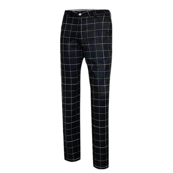 PGM Men's Pants for Golf Play Summer Breathable Quick Dry Golf Laice Trousers Outdoor Sports Tennis Plaid Pants Sportswear