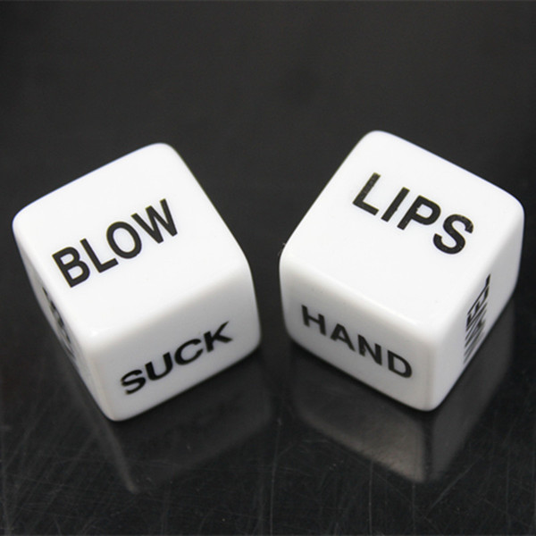 top popular Exotic Novelty Sex Dice Erotic Craps Sex Dices Love Sexy Funny Flirting Toys for Couples Adult Games Adult Products Health & Beauty 2021