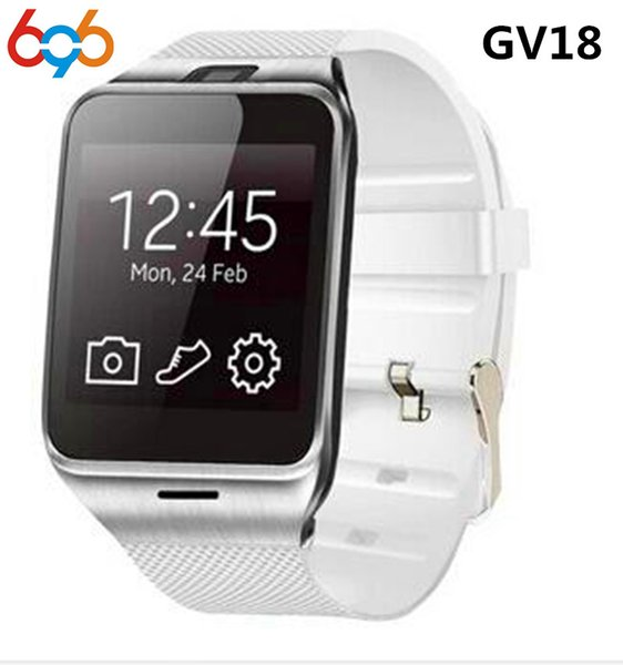 696 Aplus GV18 multi-language Smart Watch Support Sim TF Card with 0.3MP camera for Android&iOS phone