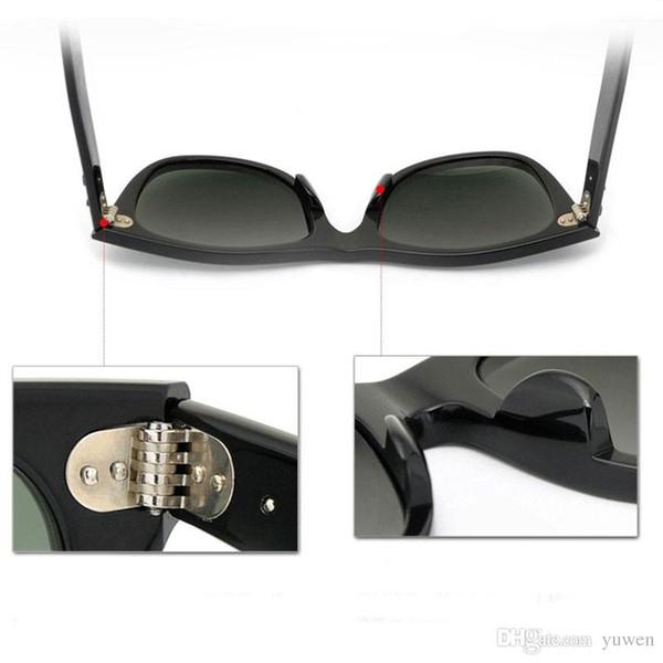 New 100% UV400 protection Sunglasses High Quality Plank black Sunglasses glass Lens black glasses beach sunglasses 2140 Designer sun glasses