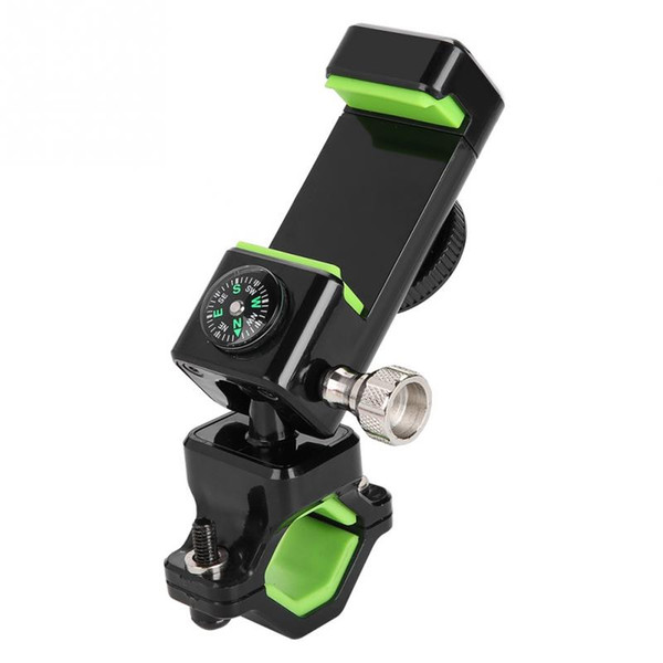 Bicycle Mobile Phone GPS Bracket for Electric Motorcycle Phone Stand Holder For iPhone XR XS 360 Degree Adjustable Phone Holder