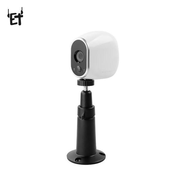 Arlo Pro için ET Kamera Braketi CCTV Aksesuar Tavan Masaüstü Duvar Montaj Güvenlik Standı Metal Gözetim Kamera Gimbal Tutucu
