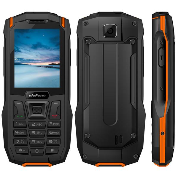 "Ulefone Armor Mini IP68 Waterproof Mobile Phone 2.4"" MTK6261D Flashlight Wireless FM Radio Lond Voice 2500mAh Dual SIM CellPhone"