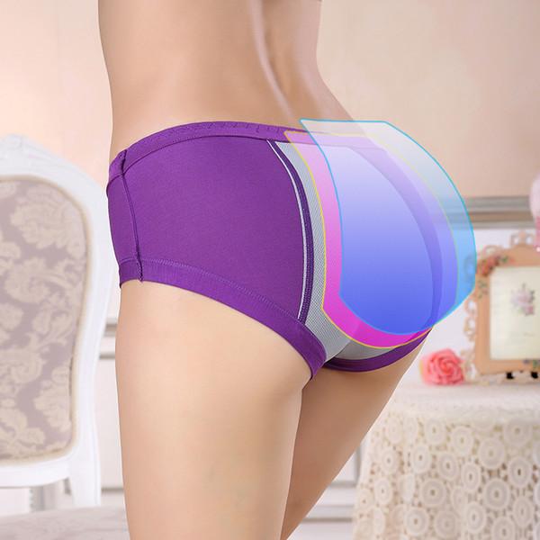 top popular Menstrual Period Underwear Women Modal Cotton Panties Ladies Seamless Lengthen Breathable Panties Physiological Leakproof Female lingerie 2020