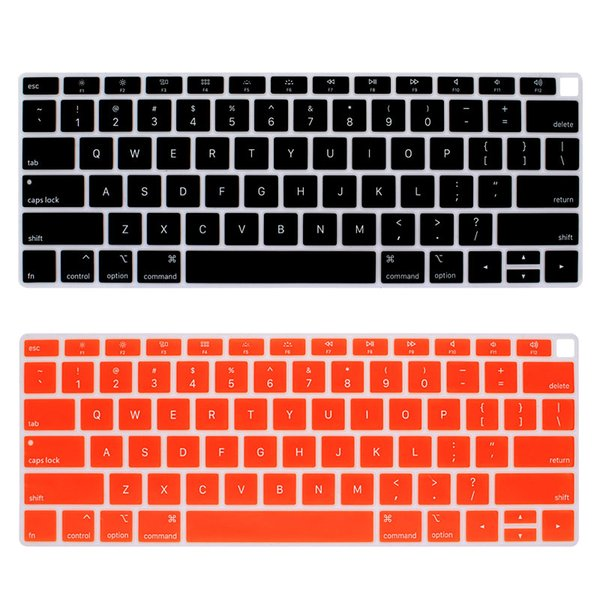 Laptop Colorful Silicone Keyboard Covers for New Macbook Air13.3 (A1932) Waterproof Dustproof with Package