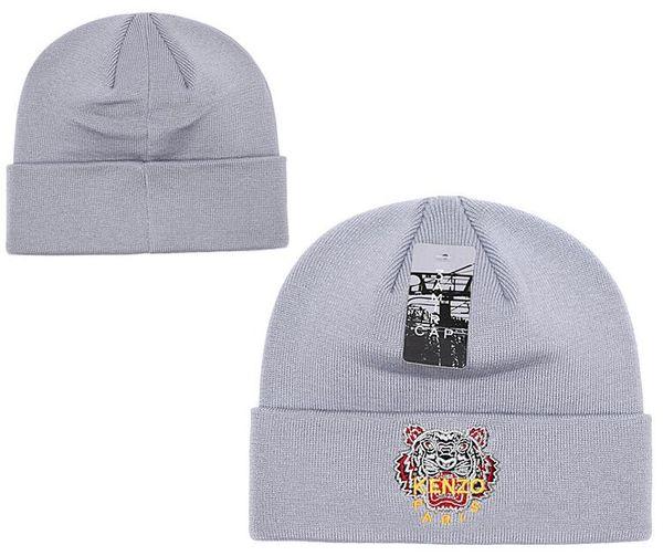 Top Selling beanies Knitted Hat Designer Tiger head Winter Warm Thick Beanie Fedora gorro Bonnet Skull Hats for Men women Crochet Skiing cap
