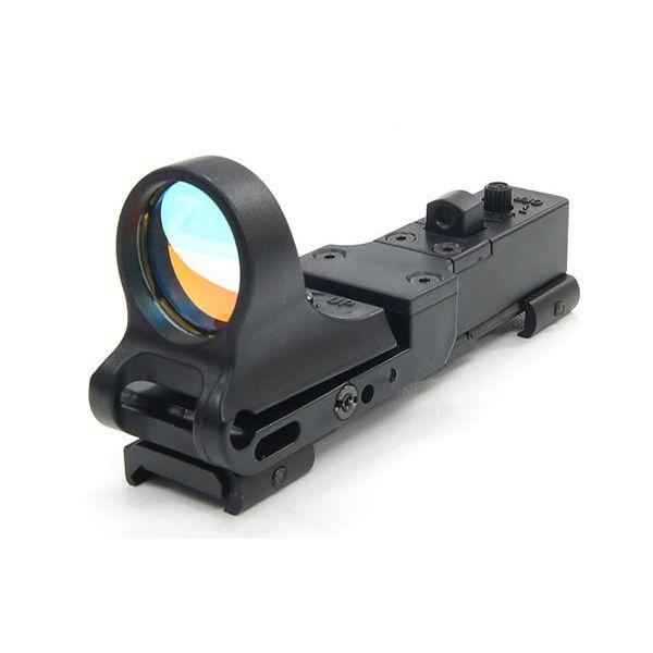 Tactical C-More Railway Reflex Sight 8 MOA Red Dot con attacco Picatinny Black