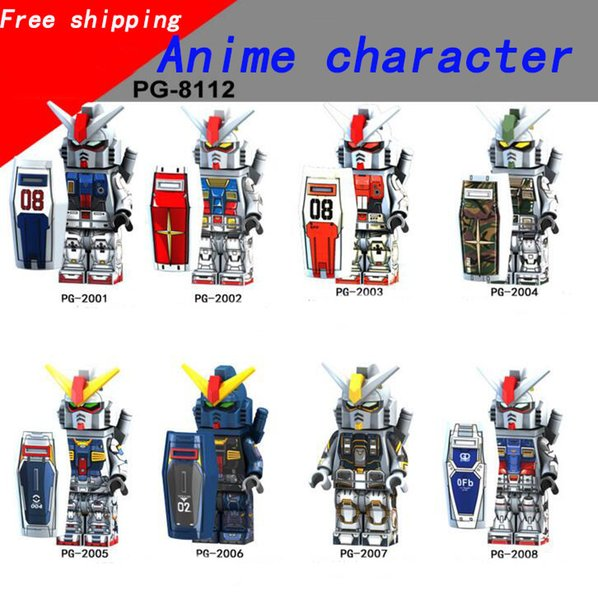 NEW Assembled Toy Building Blocks Children Building Blocks Man Mobile Suit Children Assembled Toys DHL Free Shipping