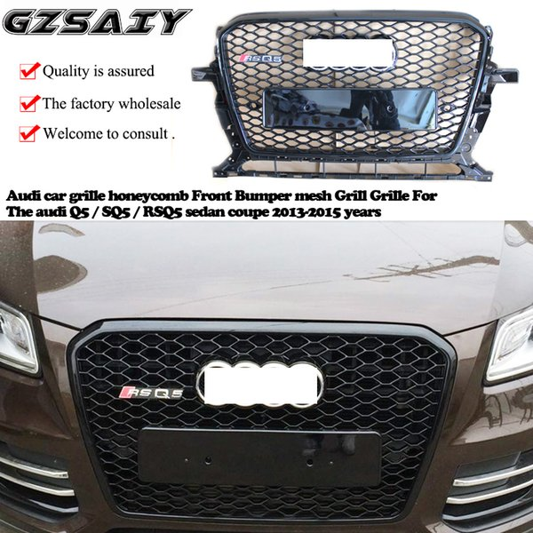 2019 Audi Car Grille Honeycomb Front Bumper Mesh Grill Grille For The Audi  Q5 / SQ5 / RSQ5 Sedan Coupe 2013 2015 Years From Gzsaiyan, $240 0 |
