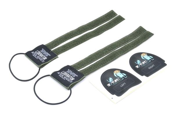 Z-TAC Headset Acessório Kit de Conversão para Fone de Ouvido Sordin Adesivos Capacetes Táticos Fone De Ouvido Acessório nylon Floresta Negra verde Terra Escura