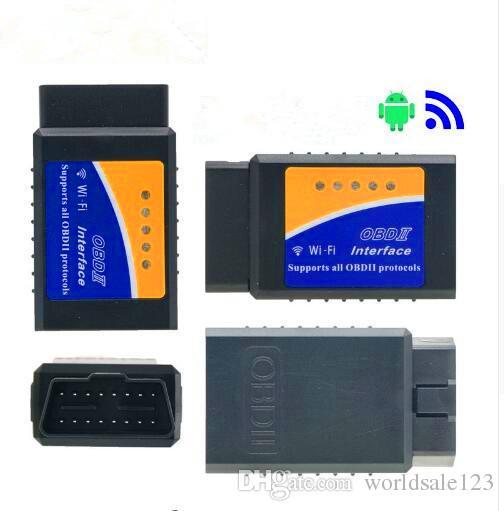 Super Mini ELM327 Wifi V1.5 OBD2 OBDII Code Reader ELM 327 Auto Diagnostic Scanner Tool ELM-327 Wireless for Android iOS Phone