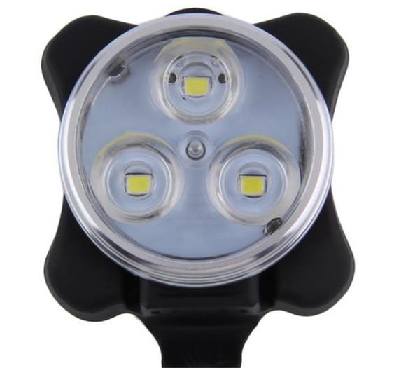 Disponibile Bike Warning Light Ricaricabile USB Bicicletta da bicicletta LED Testa anteriore Anteriore Posteriore Clip Light Lampada 18tc dd