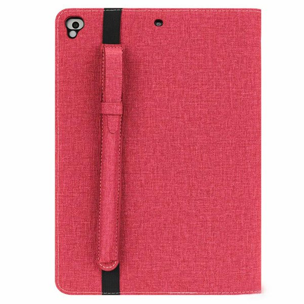 PU Leather Folio Smart Cover Stand Wallet Case for Apple iPad 9.7 2018/2017/Pro 9.7/Air 2/Air with penholder 60pcs DHL