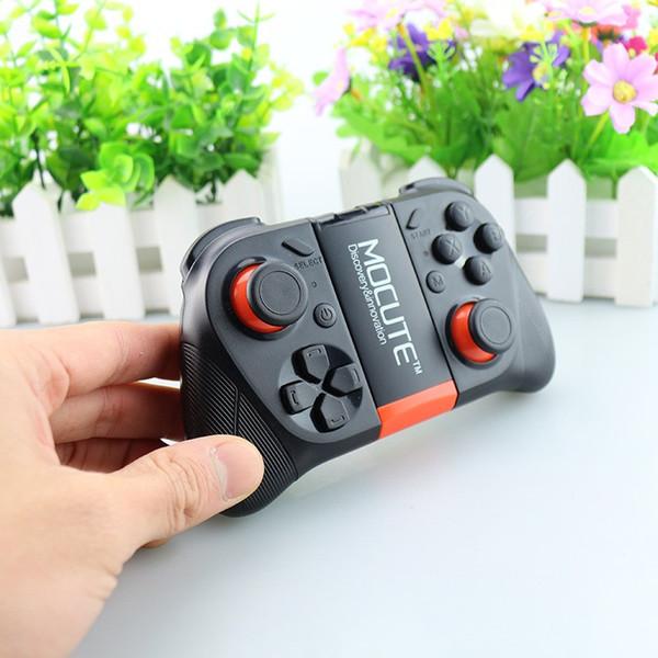 MOCUTE - 050 геймпад Bluetooth игры игровой джойстик контроллер затвора пульт дистанционного управления для iPhone IOS Andriod Smart Phone TV BOX tablet pc