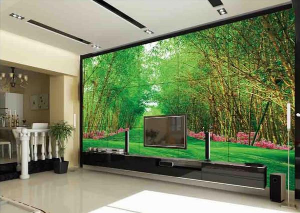 Großhandel Tapeten Für Wände 3 D Für Wohnzimmer Bambus Bamboo Dream Bambus  Berichtete Frieden Und Stabilität Hoch TV Sofa Wohnzimmer Wand Von ...