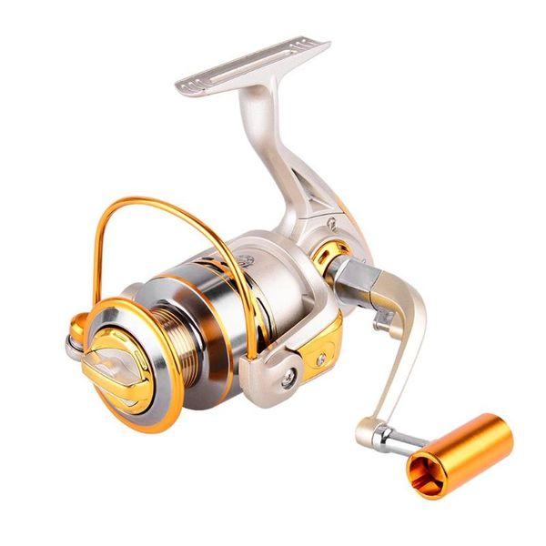 11 Axles Full Metal Rocker Arm Shaft Fishing Line Spinning Fishing Reel