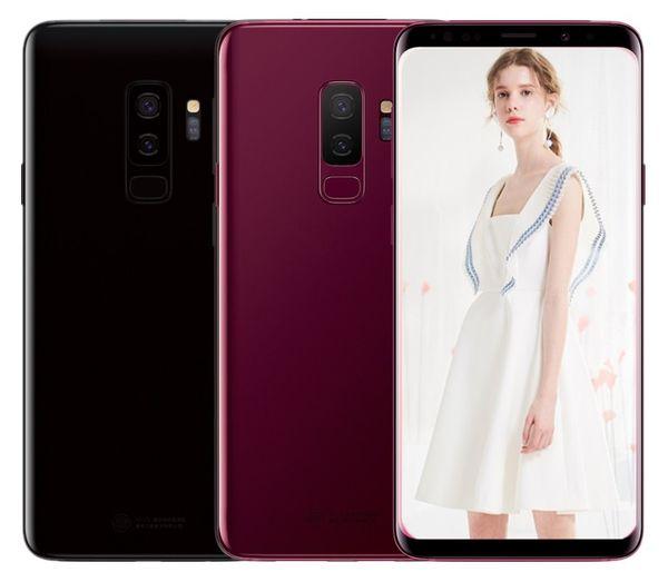 ERQIYU Goophone 9 plus 6.2 inch full screen 16.0MP Smartphones shown 4G LTE 4G RAM 128GB ROM Unlocked Cell phones