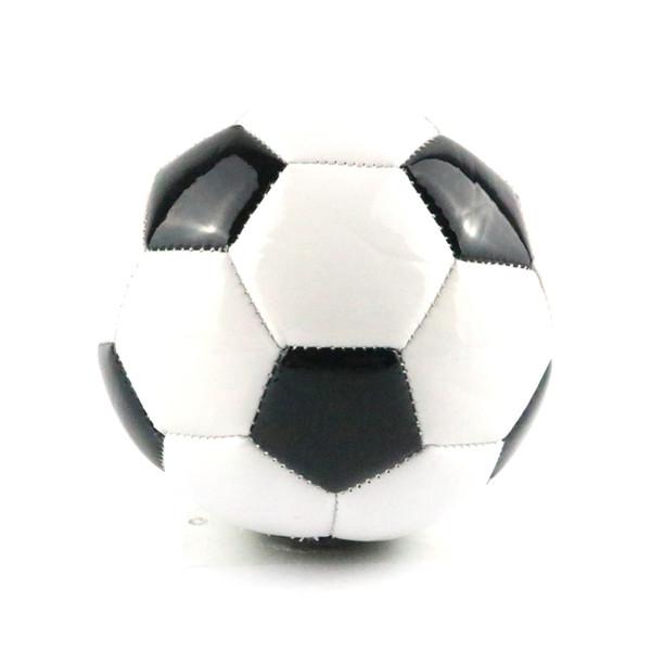 top popular Hot Sale Classic Black White Standard Soccer Ball Size 2 Training Voetbal Bal Germany Spain Football France 2018 Futbol 2021