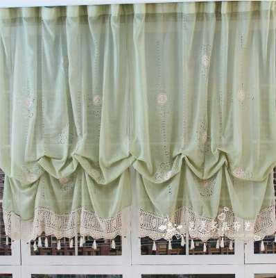 2019 New Pastoral Style Adjustable Balloon Curtain, Living Room Shade,White  Window Treatment, Curtains For Windows Available From Gravityhome, $37.47  ...
