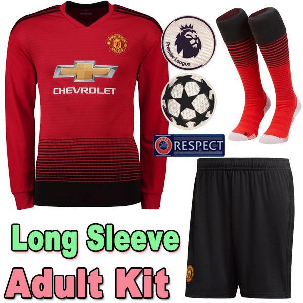 online retailer 54ec8 b5daf manchester united long sleeve jersey