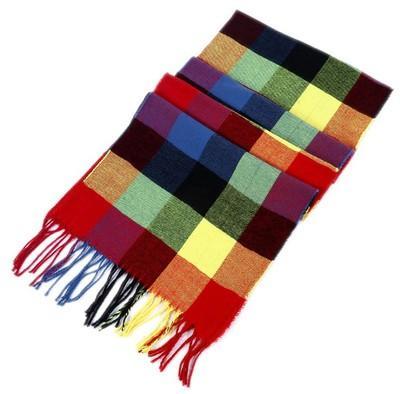 새로운 가을과 겨울 영국 격자 무늬 스카프 남자 캐시미르 따뜻한 스카프 스카프 두꺼운 술의 스카프 도매