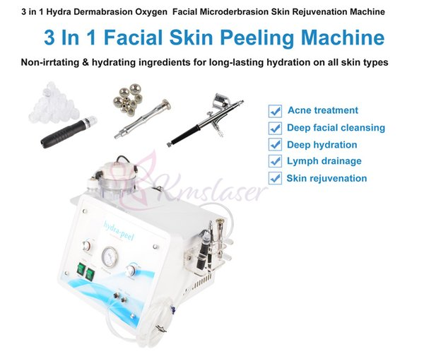 Hydrafacial Water Dermabrasion Hydro Facial Machine Diamond Microdermabrasion Peeling Face Cleaning Skin Care Anti Aging Beauty Spa Use