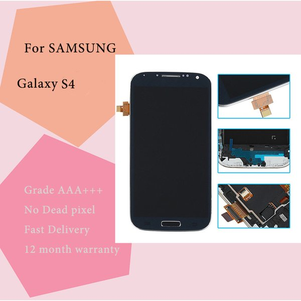 TFT brightness adjustable For Samsung Galaxy S4 LCD i9500 I337 M919 I545 I9502 I9505 E300K Display Touch Screen Digitizer Free Shipping