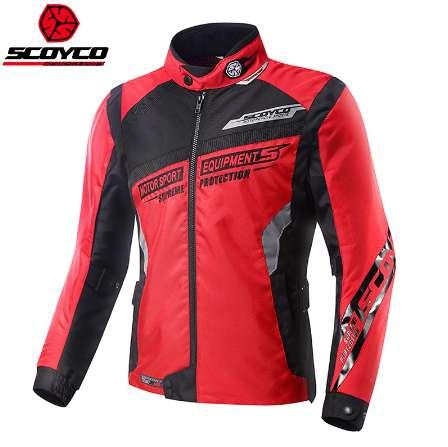 Scoyco JK28 Flexible Full Body Armor Motorcycle Jacket Motor Racing Mesh Breathable Motorbike Race Automobile Motocross Jaqueta
