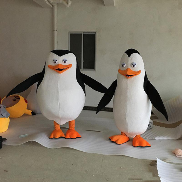 best selling 2019 High quality penguin madagascar mascot costume custom fancy costume anime cosply kits mascotte fancy dress carnival costume