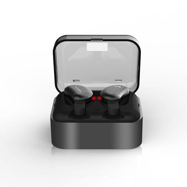 SYLLABLE D9 Wireless Earbud TWS Auriculares Bluetooth Metal Charge Case Auriculares Bluetooth para teléfono Mic para llamadas IPX4 Waterproof