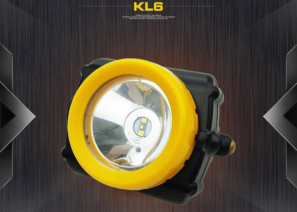 High quality 3W high brightness industrial and mining special LED explosion-proof waterproof headlight 5200MAH miner's lamp KL6