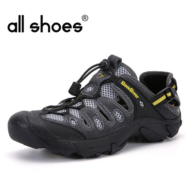 Big Size Men Mountain Climbing Water Sneakers Men Hiking Shoes Breathable Outdoor Sandals Spring/Summer Trekking Sandals HB-12
