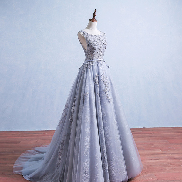 Sexy Illusion Elie Saab Evening Dresses Lace Formal 2019 Real Photos Prom Dresses With Appliques Beads Backless