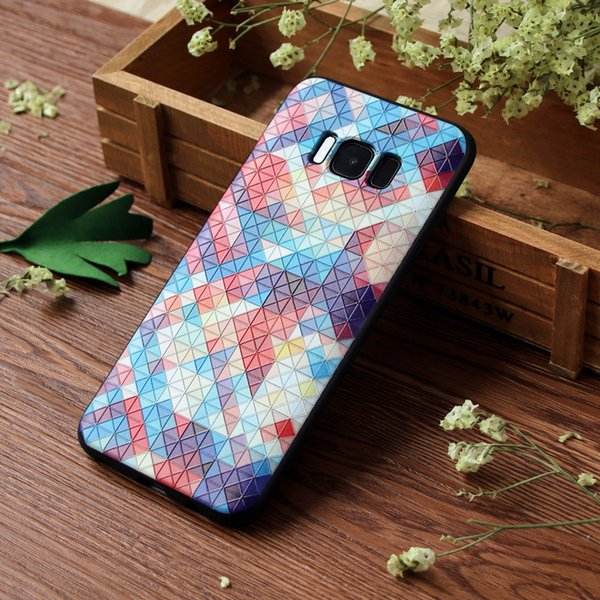 Custom Print Photo Phone Cases For Samsung Galaxy A3 A5 Galaxy S9 Soft Transparent Silicon DIY Personalised Logo Cover yh-02