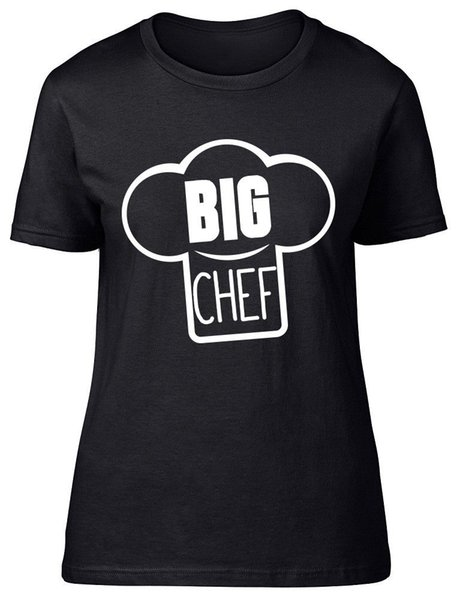 Big Chef Womens Ladies T-Shirt