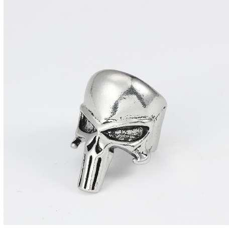 Skull Ring For Men Jewelry Vintage Steampunk Halloween Gifts Hollow Skulls Punk Rings Of Anime Hip Hop Ring Finger Dropshipping