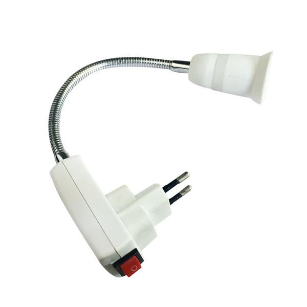 E27 Extend Extension LED Light Bulb Lamp Base Holder Socket Adapter Converter