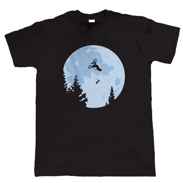 Funny Et Moon Bmx Herren T-Shirt - Alle Größen Inc Hip-Hop-Neuheit T-Shirts Herren-Markenbekleidung Mode T-Shirt Herrenbekleidung