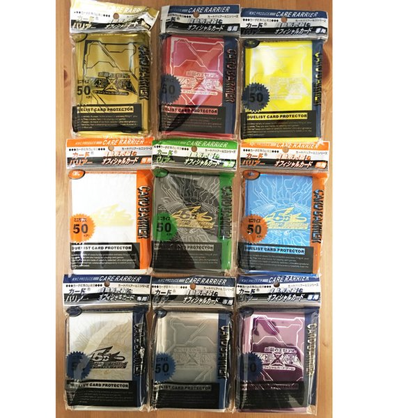 5DS ARCV ZEXAL YuGiOh Card Deck Protector mangas mezcla colores