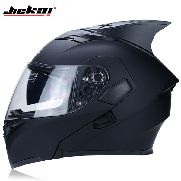 The hottest sale DOT motorcycle helmet modular Moto helmet built-in sun visor safety double lens racing full flip