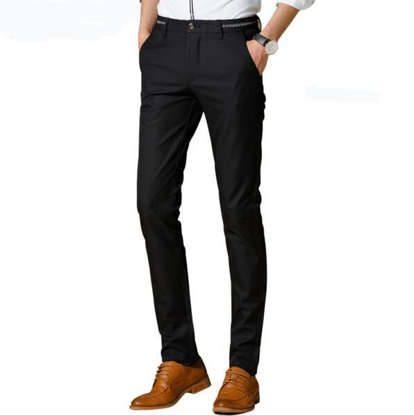 Men's Stretch Modern-Fit Flat-Front Pant