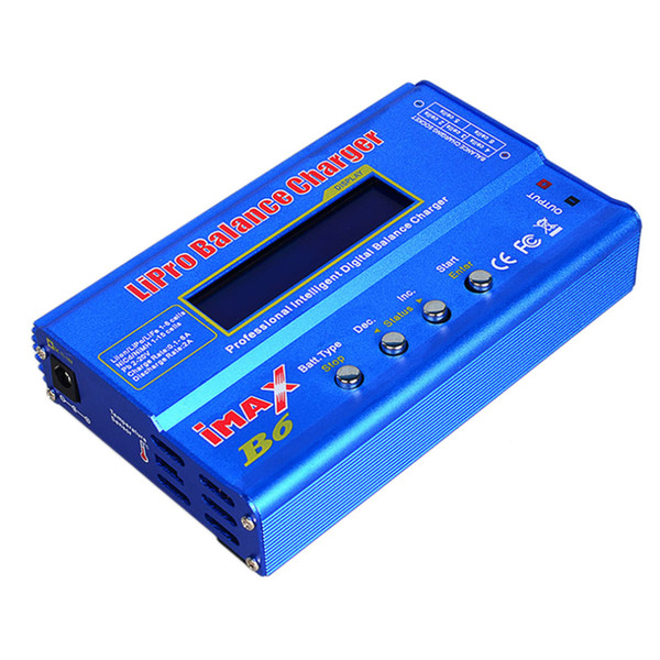 1 Set IMAX B6 Digital RC Lipo NiMh Battery Balance Charger AC POWER 12V 5A Adapter FOR Vehicles Remote Control Toys Helicopters