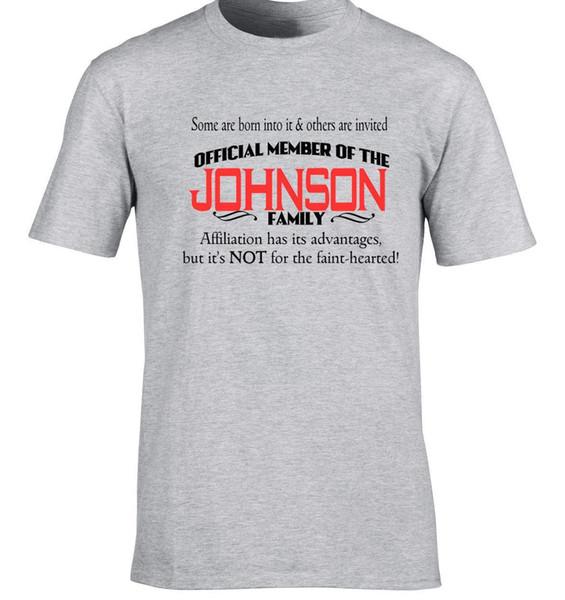 Johnson Família Nombre Apellido Cualquier Se Puede BE Añadido