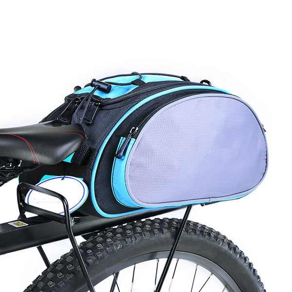 Bicycle Carrier Bag 13L Rack Trunk Bike Luggage Back Seat Pannier Cycling Handbag Bike Bags for Bicycle Accessories
