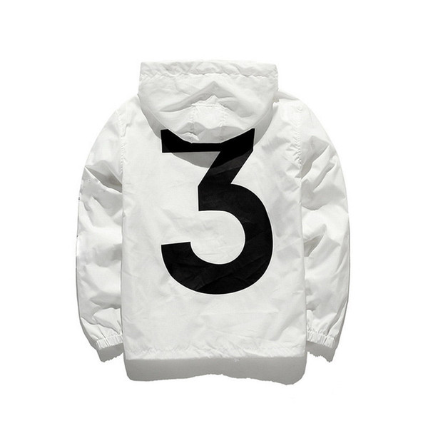 New Brand Designer Jacket Fashion Windbreaker With Pattern 3y Luxury Mens Jackets Clothing Women Hooded Skateboard Streetwear White Clothes